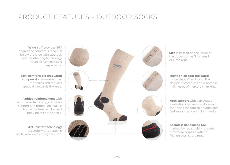 Outdoor features outdoor socks